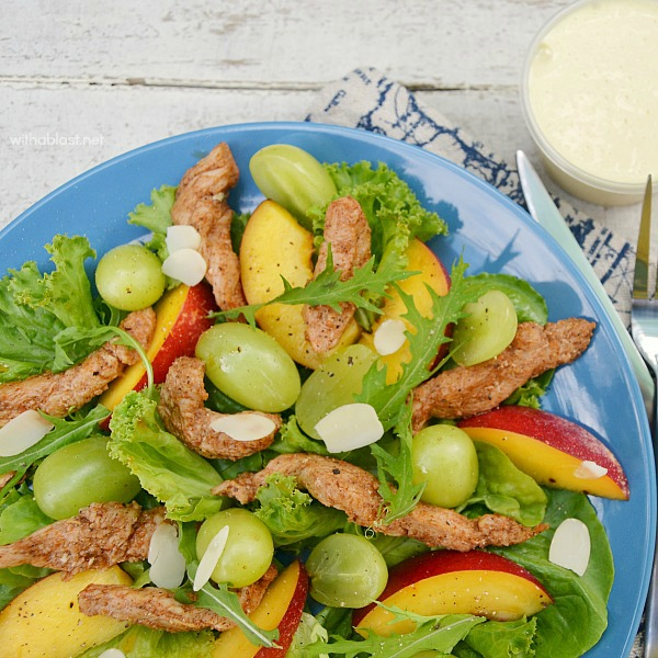 Chicken and Nectarine Salad-1