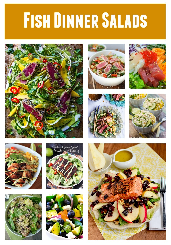 Fish Dinner Salads