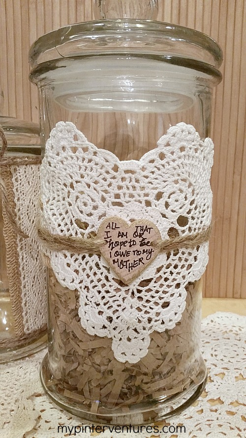 Mother's Day Vanity Jar