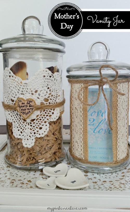 Mother's Day Vanity Jar