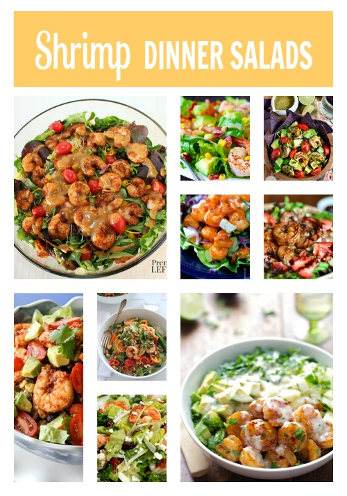 Shrimp Dinner Salads