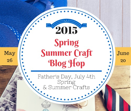 Spring Craft Blog Hop slider banner