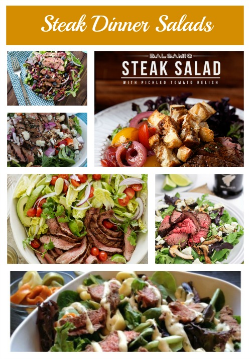 Steak Dinner Salads