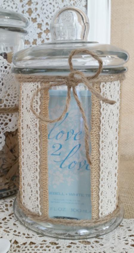 Mother's Day Vanity Jars