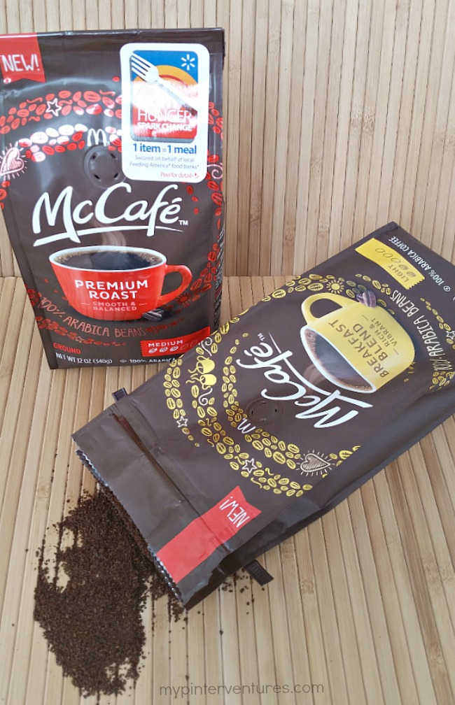 #McCafeMyWay coffee bags