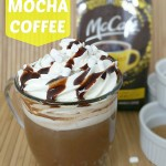 Money saving homemade mocha coffee