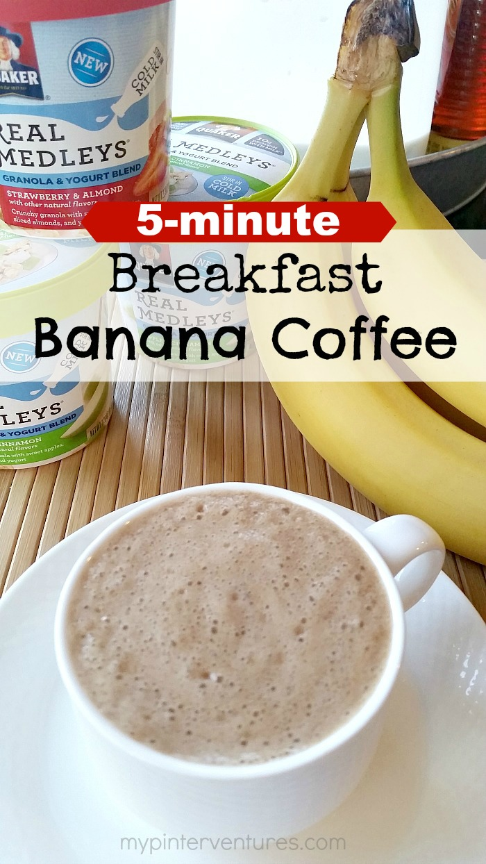 5-minute Breakfast Banana Coffee