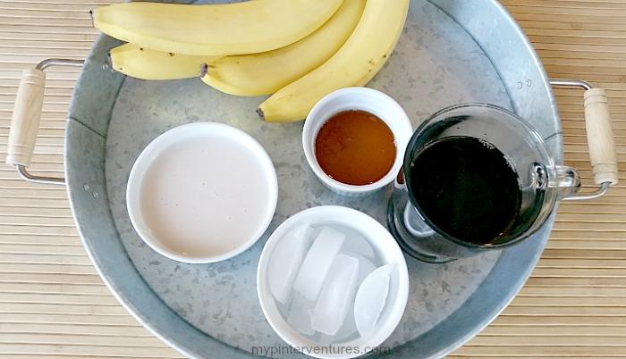Breakfast Banana Coffee ingredients