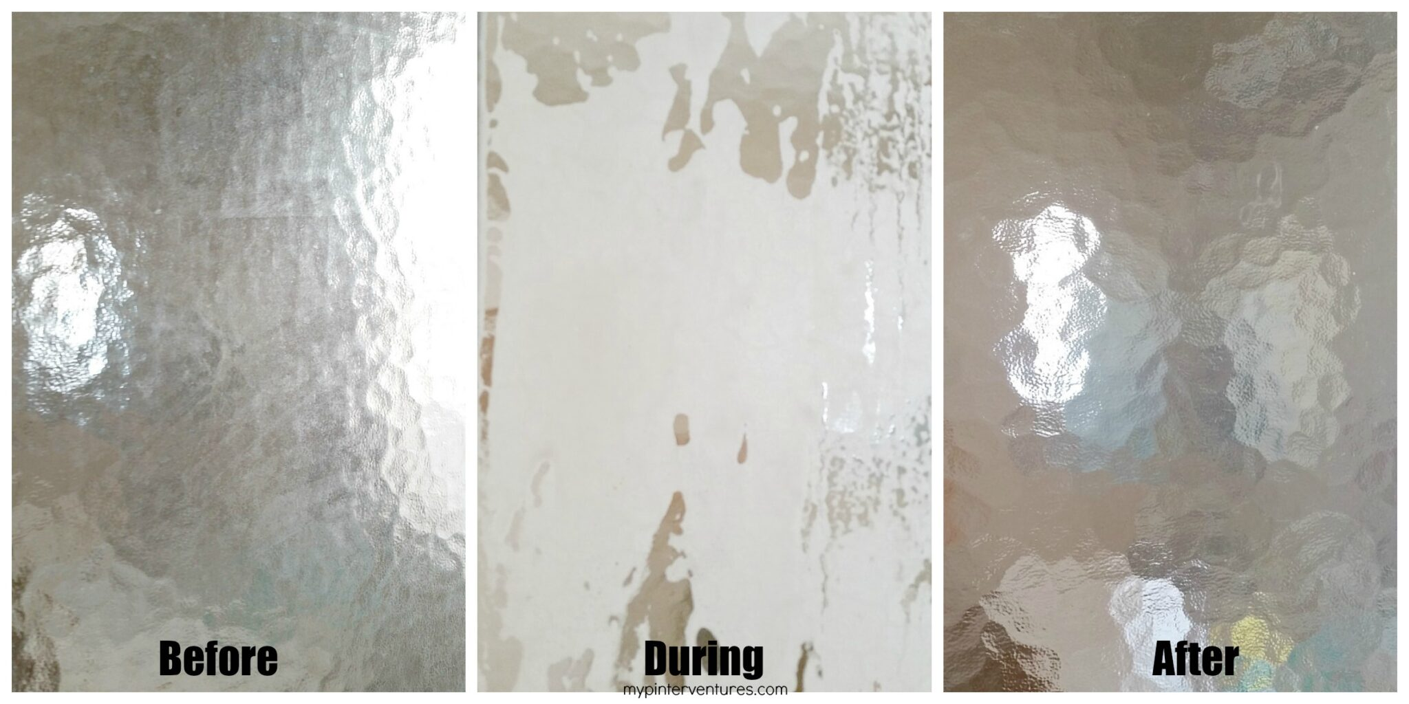 Glass Shower Door Before and After