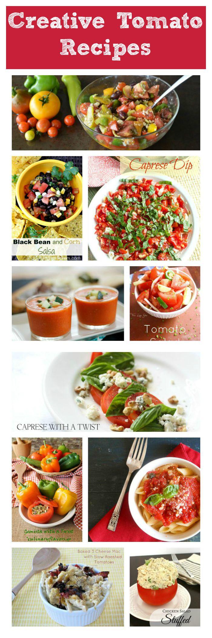 Creative Tomato Recipes