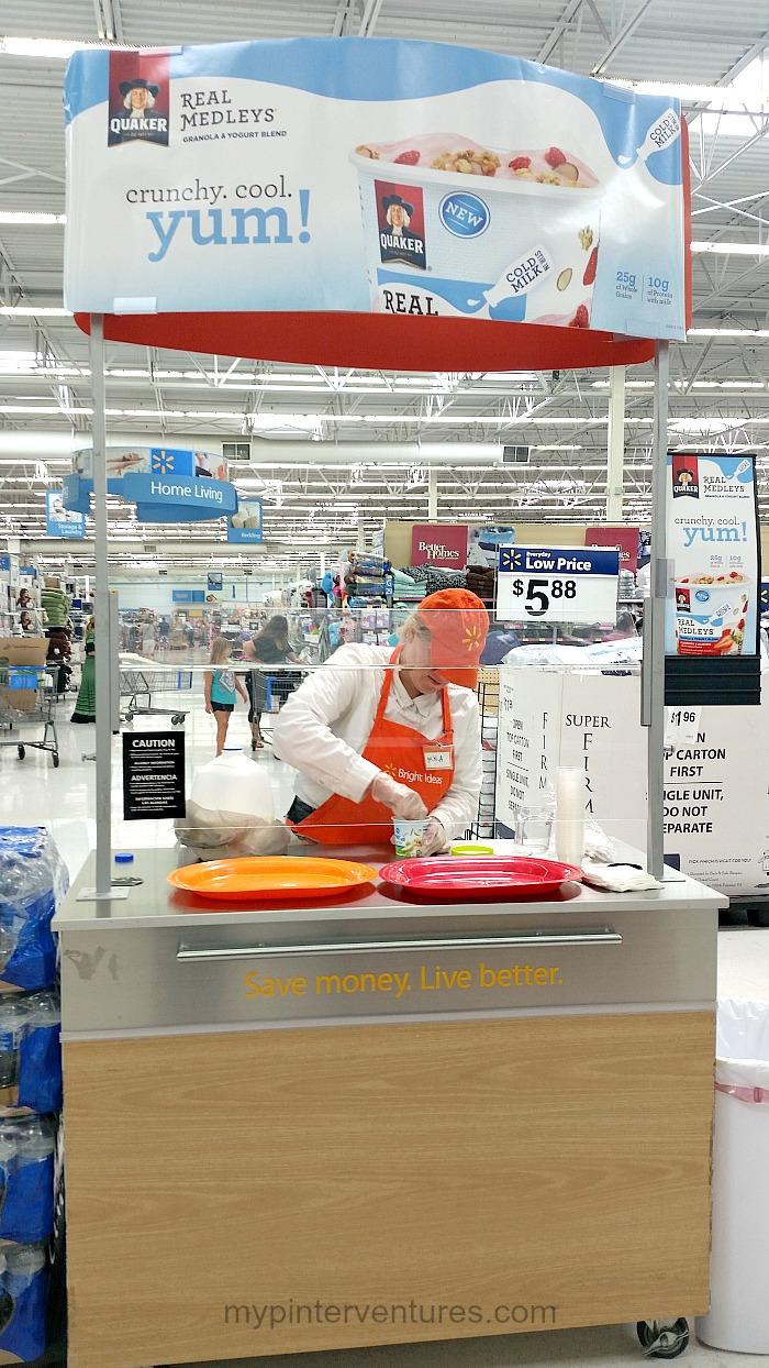 #QuakerRealMedleys Walmart Demo