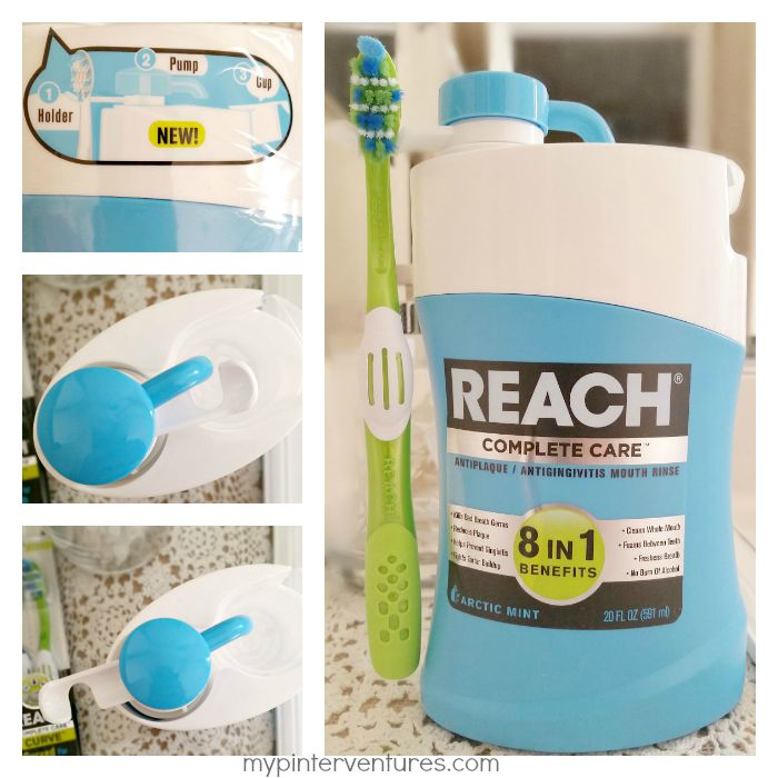 REACH Complete Care Mouth Rinse