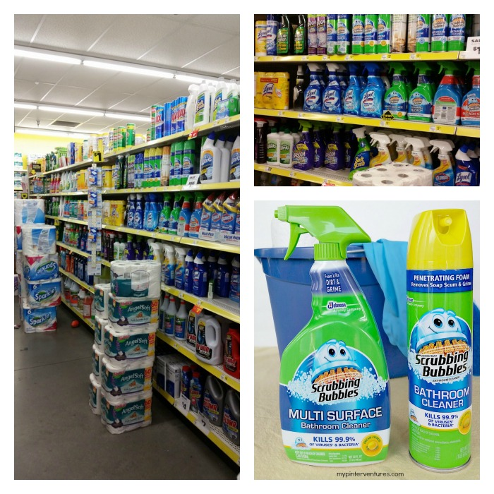 Scrubbing Bubble in-store image