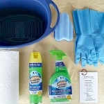 Bathroom Cleaning Kit with Printable Checklist