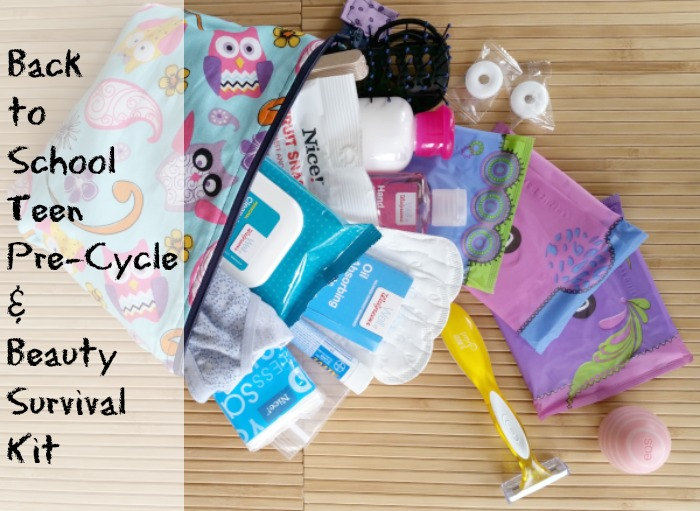 Teen Pre-Cycle & Beauty Survival Kit