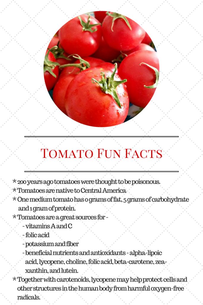 Tomato Fun Facts