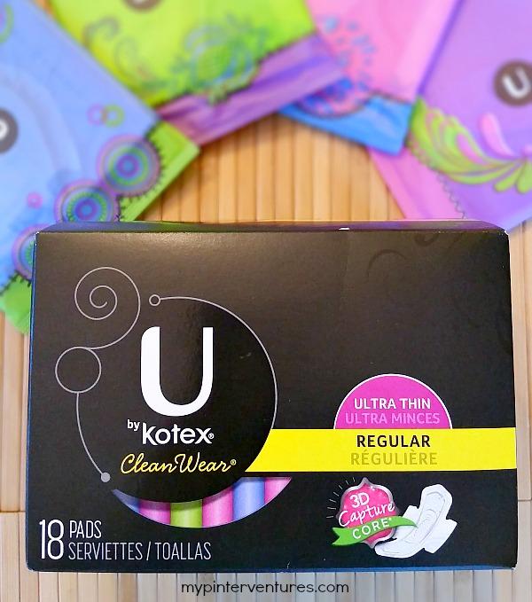 Uberlegen U By Kotex CleanWear Pad