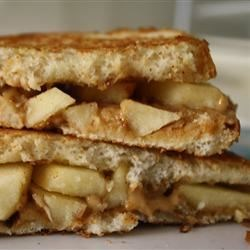 Grilled Peanut Butter Apple Sandwich
