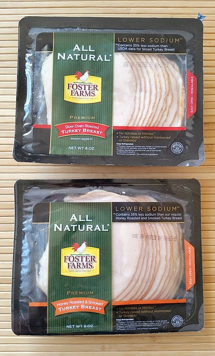 Foaster Farms All Natural Sliced Turkey