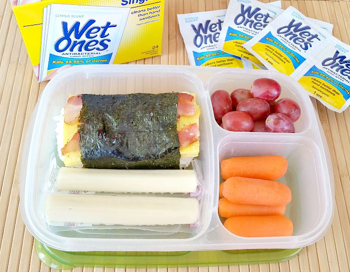 Bacon and Egg Musubi Lunch Box