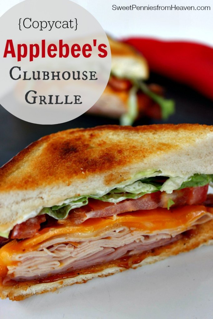 Copycat Applebees Clubhouse Grille Sandwich Recipe
