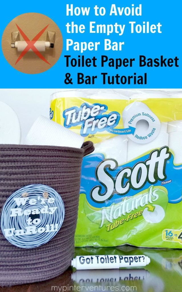 How to Avoid the Empty Toilet Paper Bar