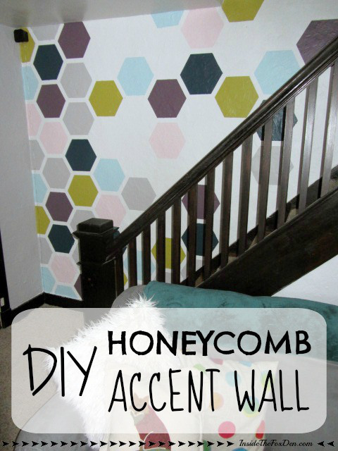 DIY Honeycomb Wall