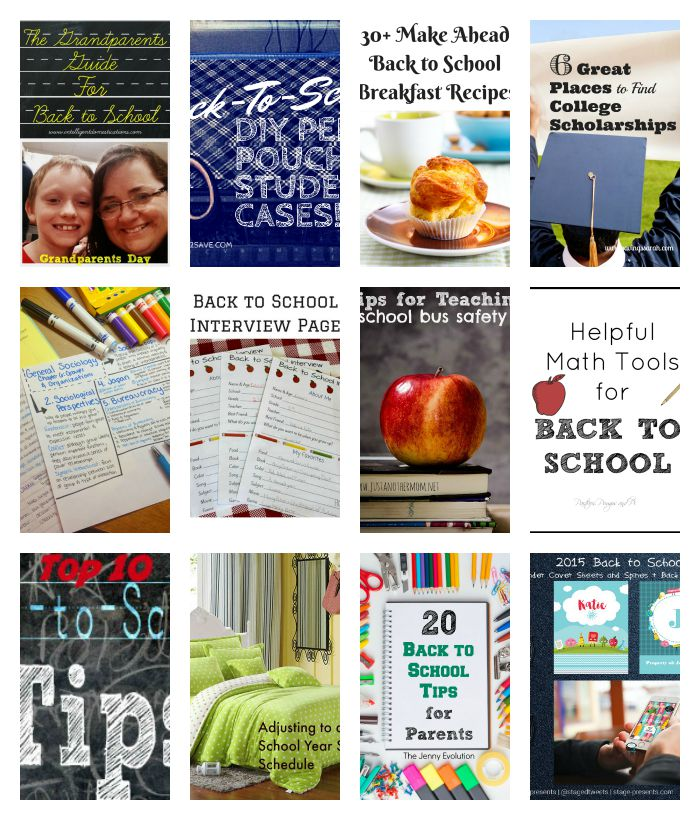 Merry Monday Link Party 66 with back to school features