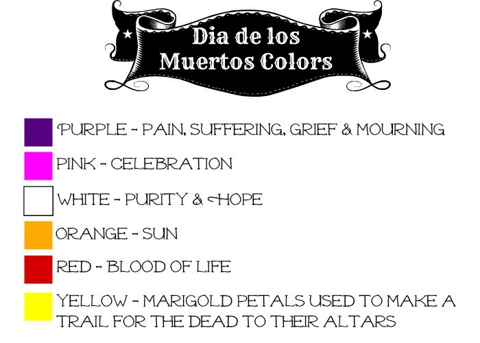 Dia de los Muertos Colors