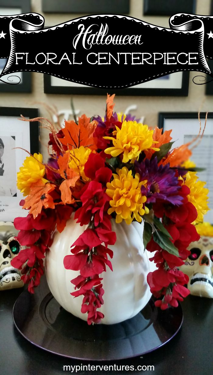 Halloween Floral Centerpiece