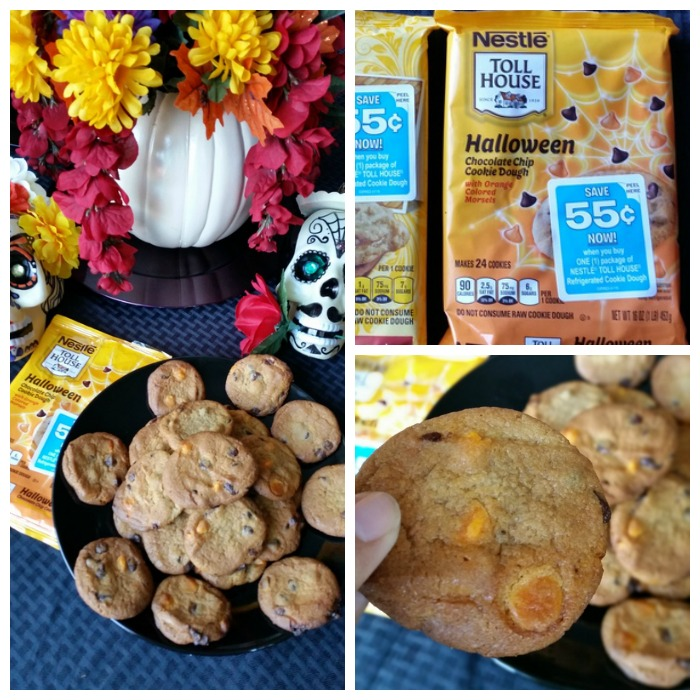 Nestle Halloween Chocolate Chip Cookie Dough