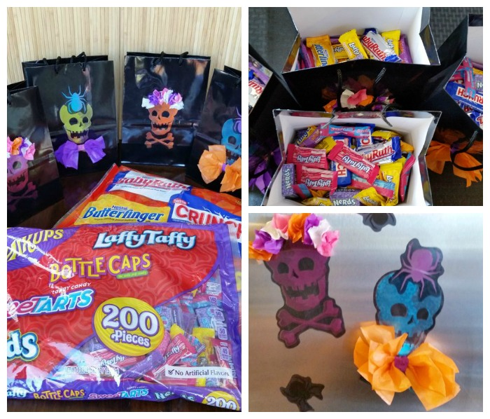 Window Cling Halloween Treat Bags