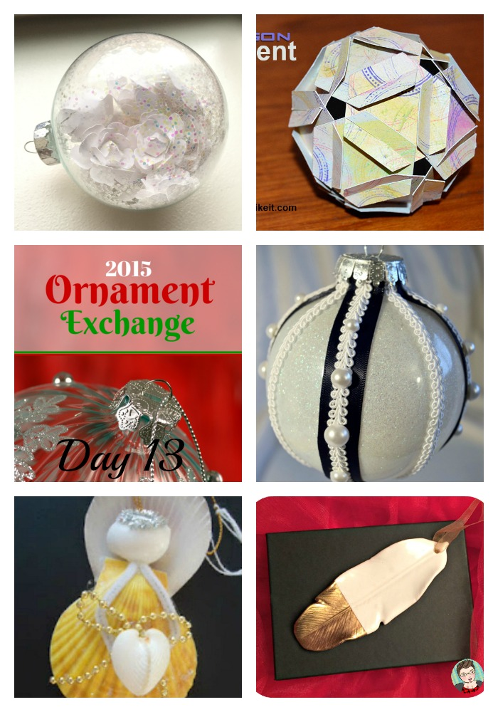 2015 Ornament Exchange Day 13