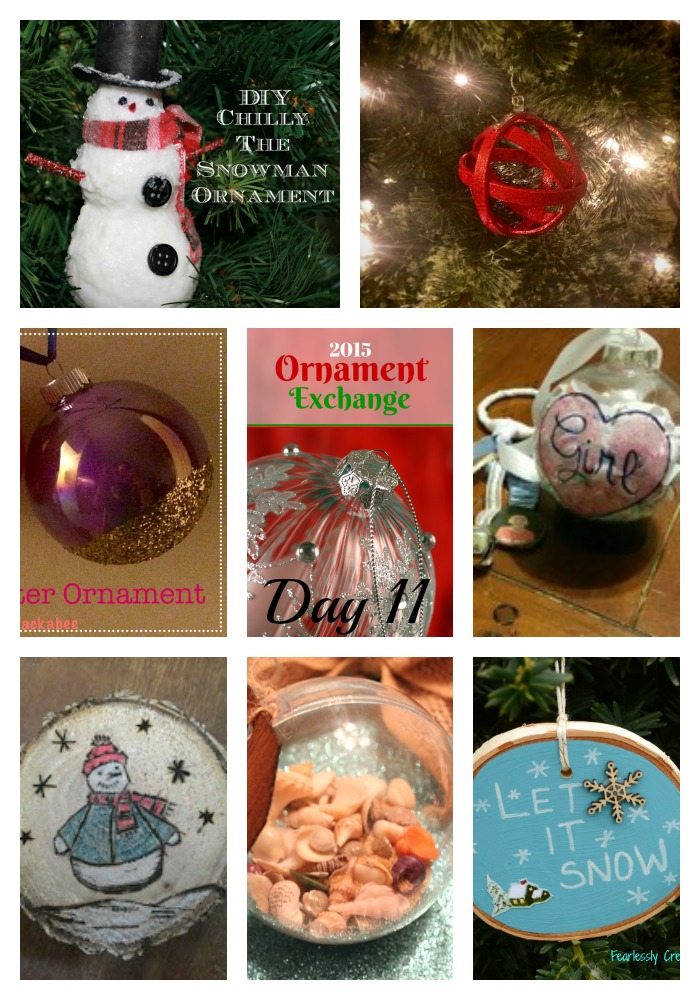 2015 Ornament Exchange Day 11