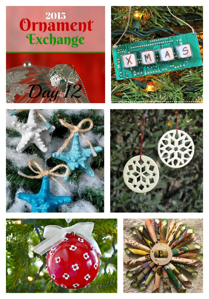 2015 Ornament Exchange Day 12