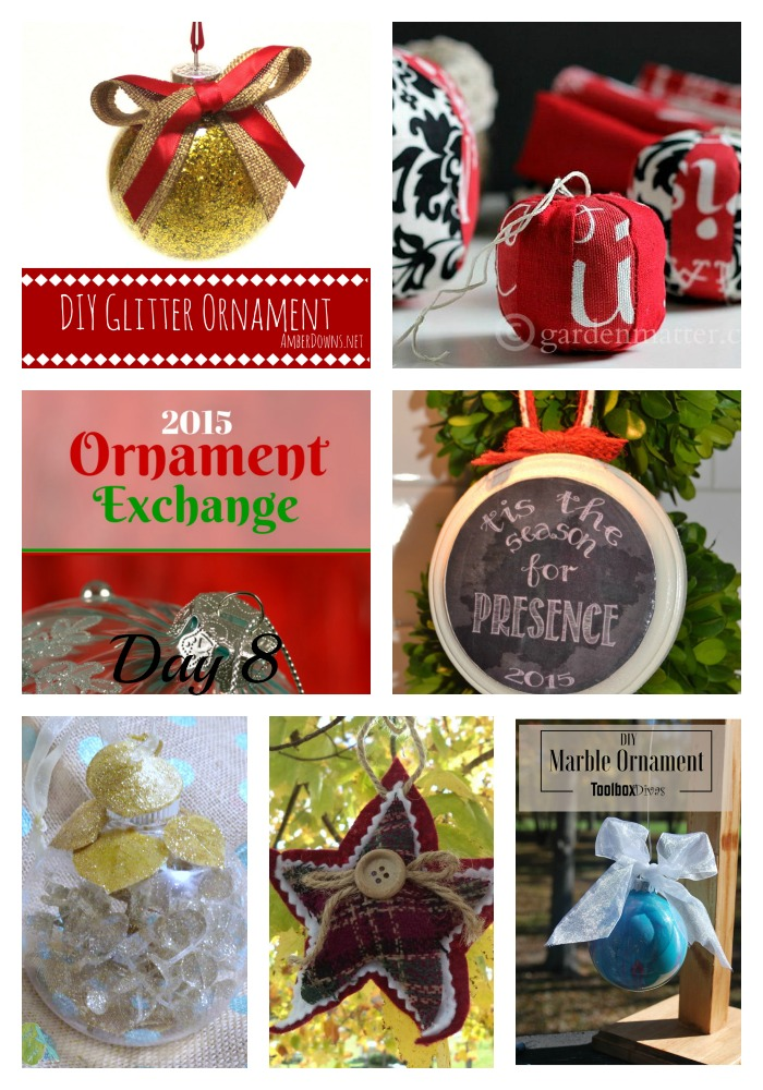 2015 Ornament Exchange Day 8