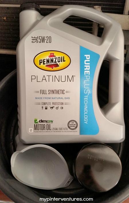 Pennzoil Platinum Full Synthetic Oil