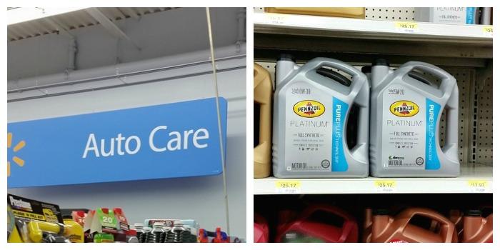 Walmart Pennzoil Platinum full synthetic oil