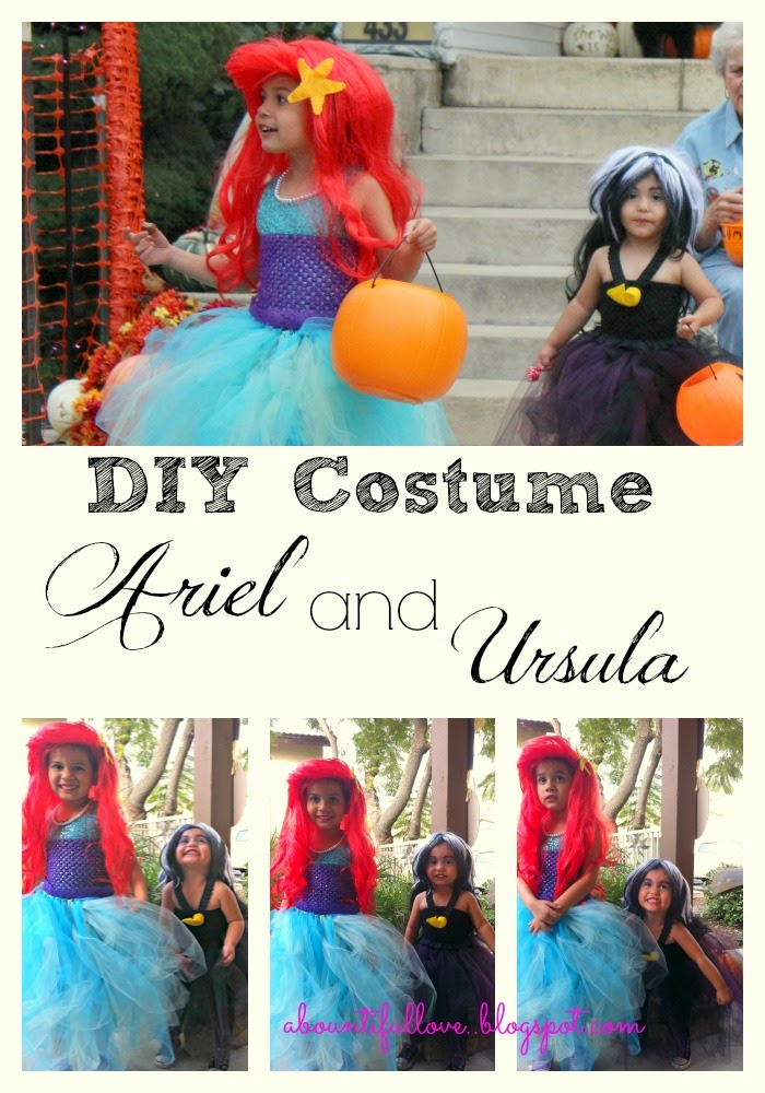 DIY Costume Ariel and Ursula