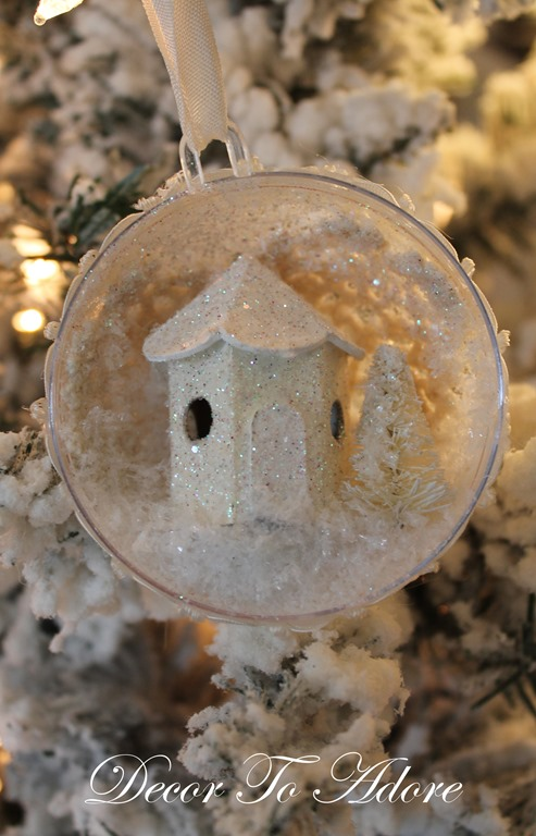 There's no place like home ornament