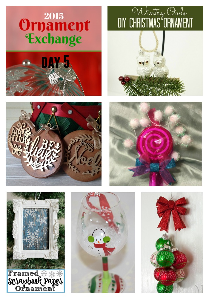 2015 Ornament Exchange- Day 5