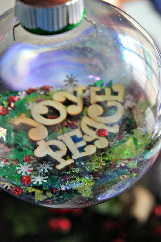 Secret Message Ornament