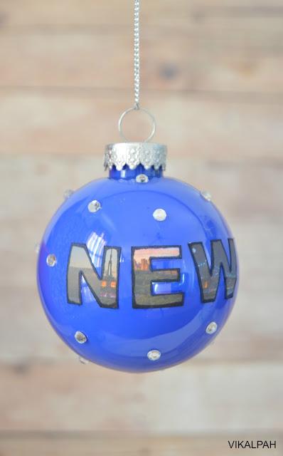 Christmas ornament new york
