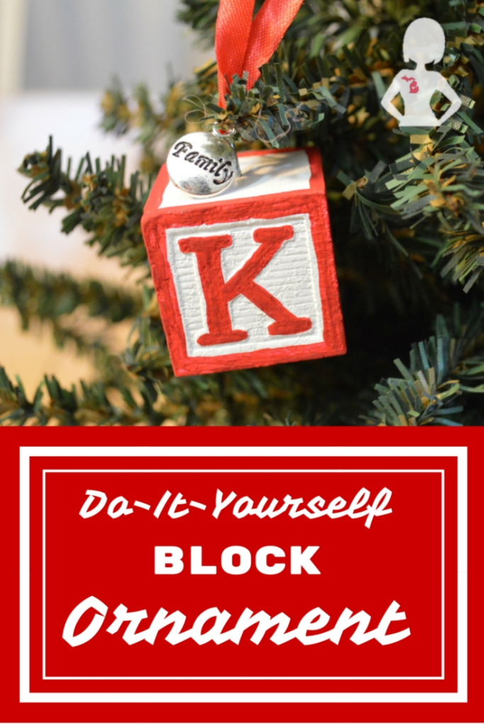 DIY Block Ornament