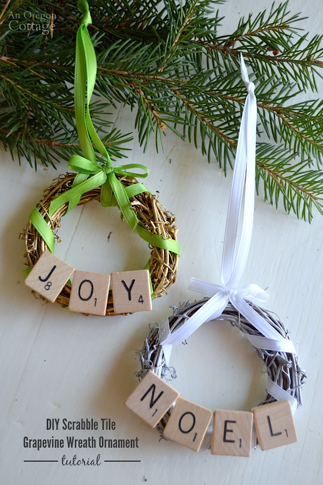 DIY-Scrabble-Tile-Grapevine-Wreath-Christmas-Ornament-easy-tutorial