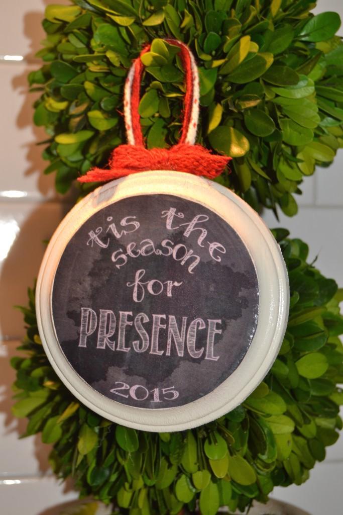 Tis the season ornament