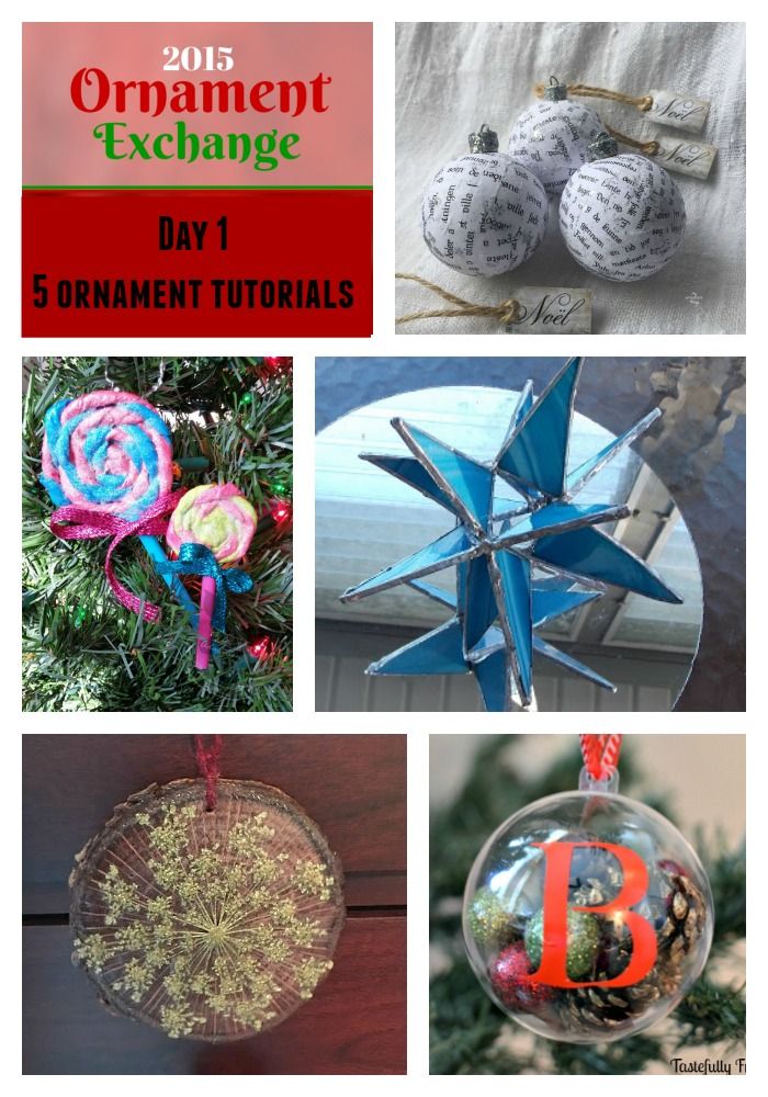 Ornament Exchange Day 1