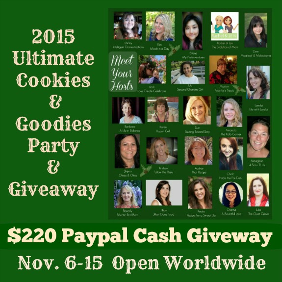 2015 Ultimate Cookies & Goodies Party $220 Giveaway