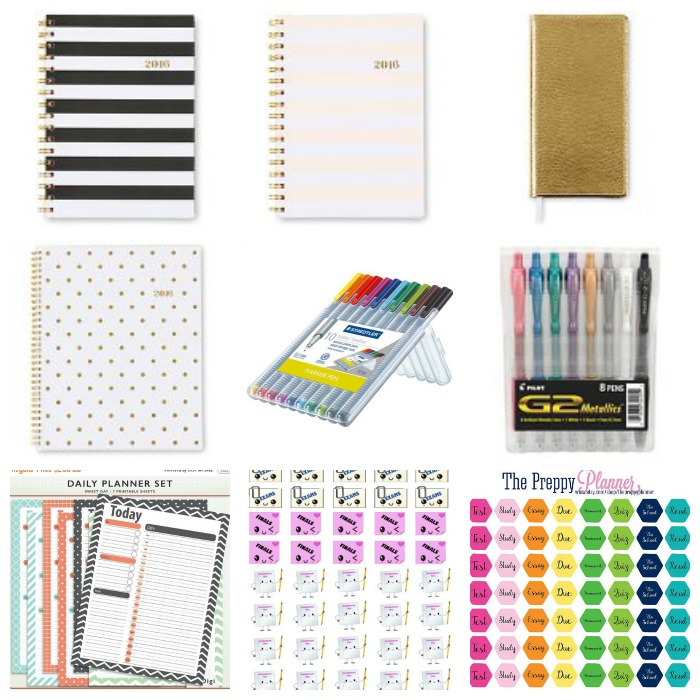 Planners/Supplies