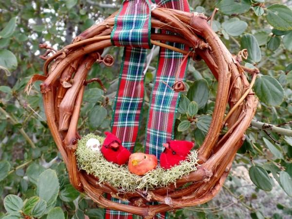 Bird Family Christmas Ornament
